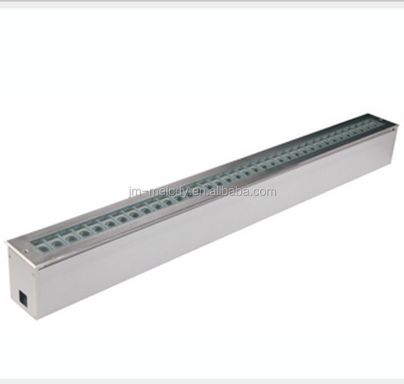 36W Waterproof IP67 13W 24V Steady Color RGB led linear inground light LED underground Lamp under ground Lighting