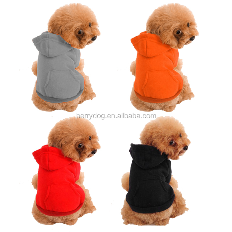 Yiwu Berry Hot Selling 5 Size Multi Color Quality Dog Cotton Sweaters