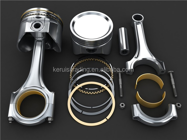 KR connecting rod 4 stroke bike engine ki for motorized bicycle 4d56 engine