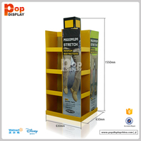 Full Color Printed Cardboard Pallet Display Display for clothing