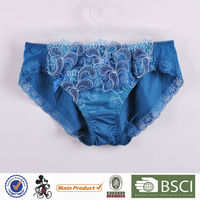 Top Selling Elegant Young Lady High Cut Thong Underwear For Cheap