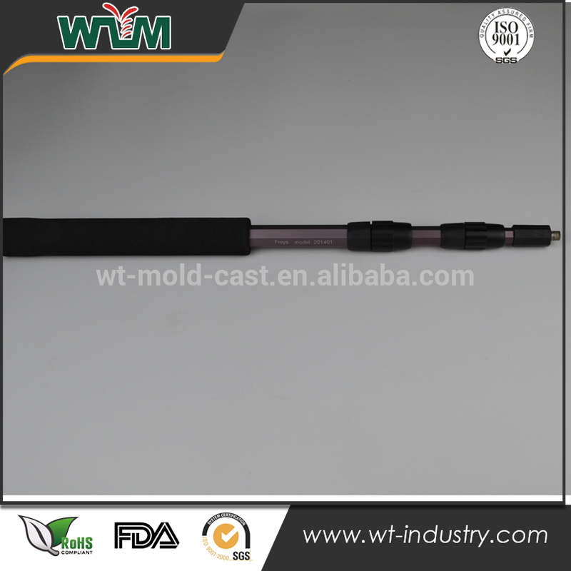 China cnc machining plastic product, molding products fishing pole\rod parts