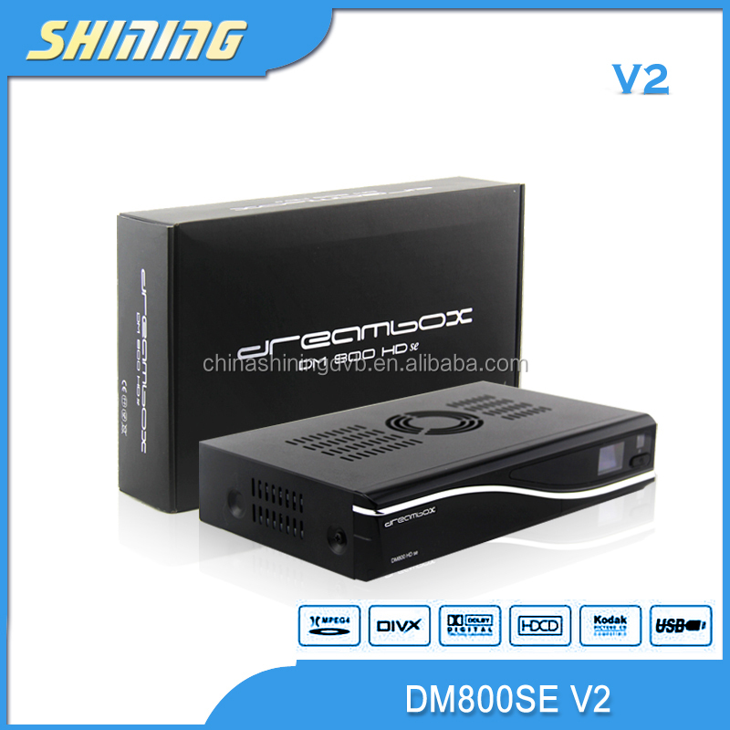 Original software dreambox 800h se sim 2.20 E motherboard pvr wifi 1 GB flash 512 MB full hd dm 800se v2 ftv decoder set top box