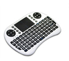 Rii I8 2.4g Wireless Mini Keyboard Black White color options For Android Smart Tv Box