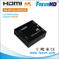 HDMI Splitter support 3D, 4K, 1 in 2 out - HDMI Divisor 1x2