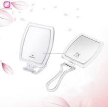 square folding hand/table travel compact mirror
