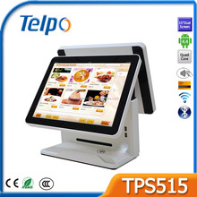"Telepower TPS515 15"" Fanless High Performance Two Touch Screen POS System"