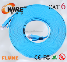 High Speed CAT 6 Flat RJ 45 Ethernet LAN Patch Cable For Modem PC Laptop