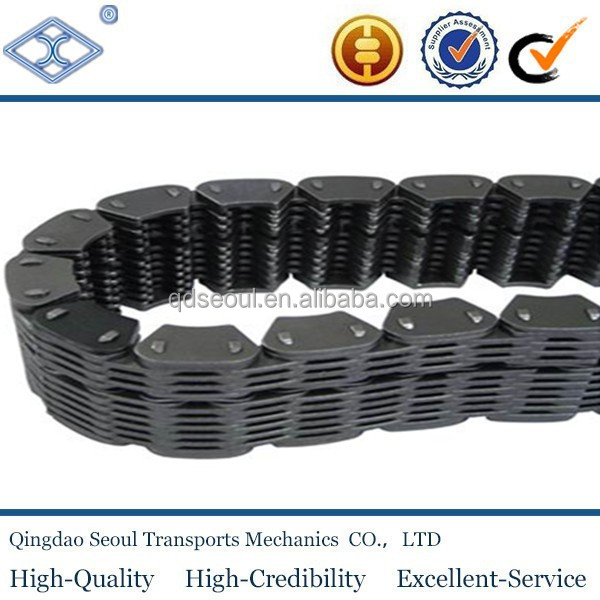 GB ANSI SC4 pitch 12.700 High quality steel inverted tooth silent chain in transmission chain
