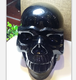 life size natural hand carved obsidian quartz crystal polished skulls for sale