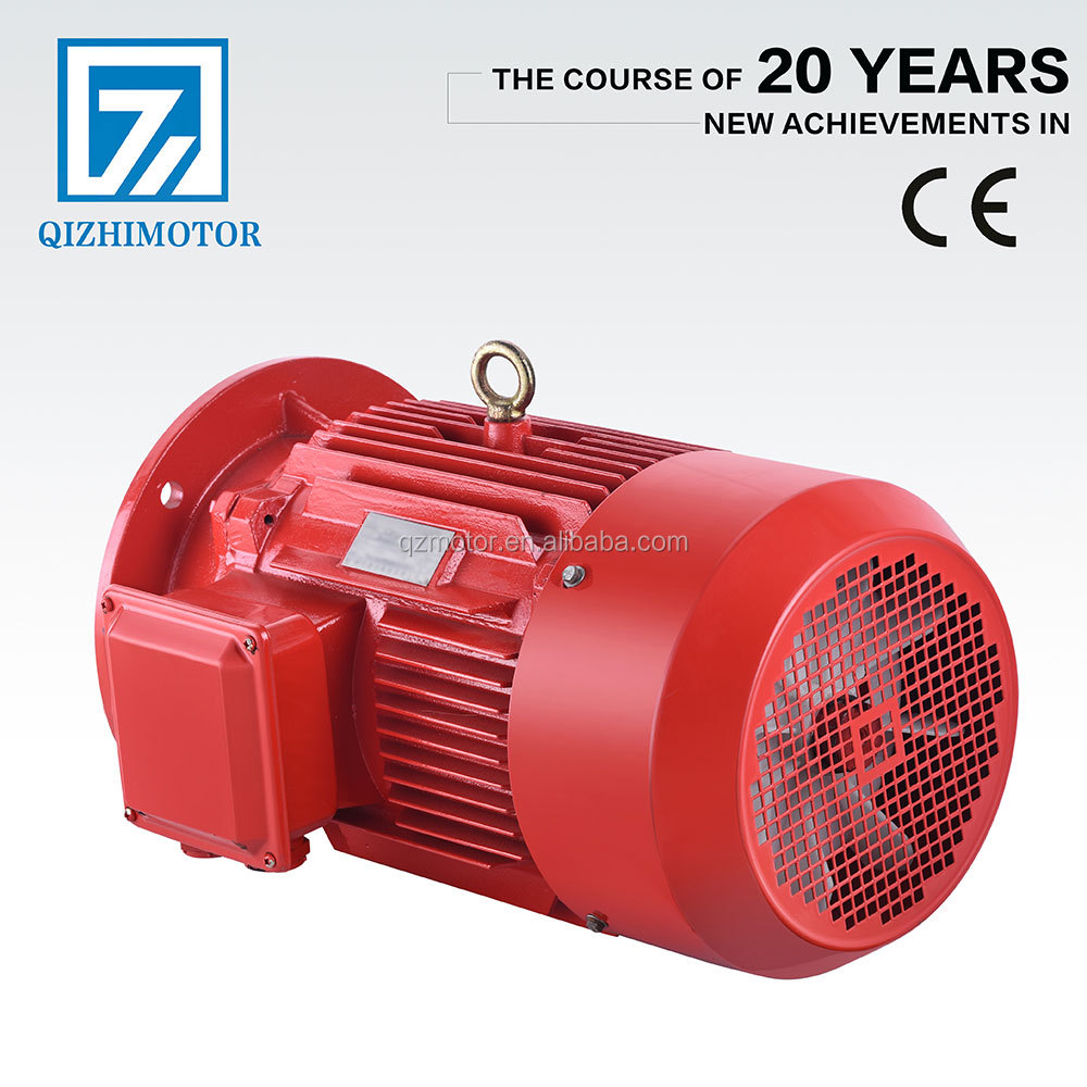 IE2 1450 rpm 3 phase ac induction electric motor 50kw