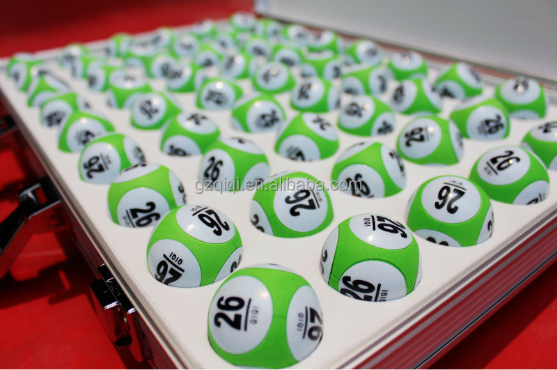 EVA solid balls for lottery games, lotto games and bingo games