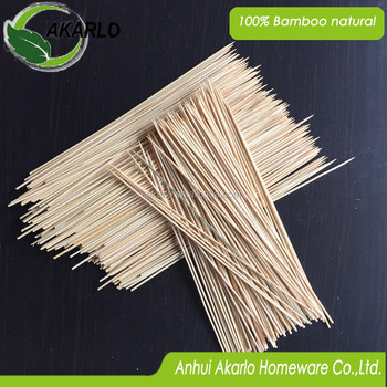 Disposable Bamboo Skewers for BBQ use sticks
