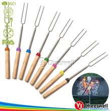 Set of 8 Pieces Extending Skewers for Hot Dog and Marshmallows