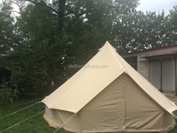 UK canvas cotton 5m bell tent