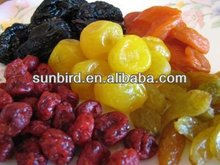 mixed dried fruit/raisin /dried apple ring /fruit /seedless strawberries /apricots /dried mango with organic food