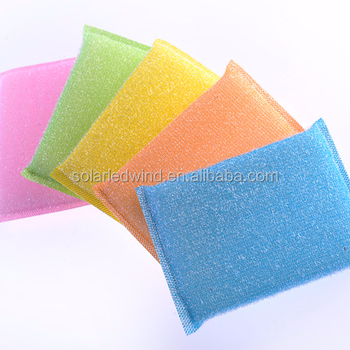 2018 kitchen cleaning pad sponge
