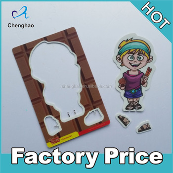 mini PP material 3d plastic card promotional gifts for kids