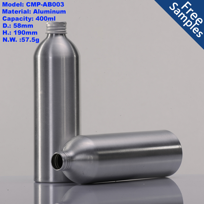 300ml aluminum bottle for essential oil, wholesale 400ml metal aluminum bottle
