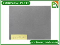 different kinds of plates for leather press metal mould