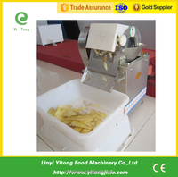 Small capacity sweet potato chipper cutting making machine for Restaurant
