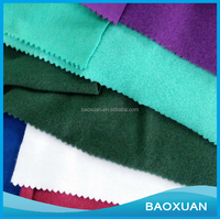 China Supplier Cheapest Soft Polyester French Terry One Side Brushed Fleece Textile Fabric For Blanket Winter Clothes