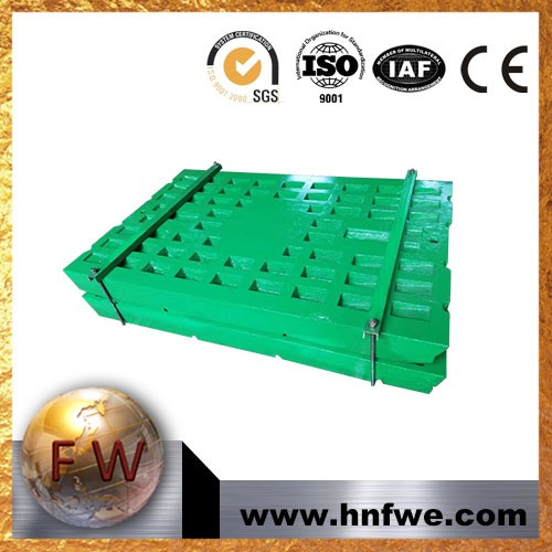 Jaw Crusher Wear Casting Parts Cheek Plate,Movable Jaw Plate