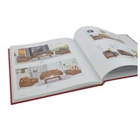 Beautiful advertising printing service catalogue for furniture
