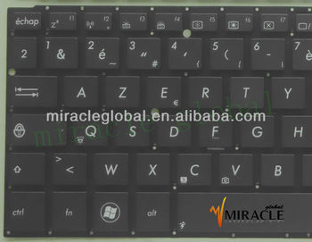 For ASUS UX31A Ultrabook Keyboard French version