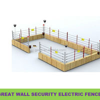 Perimeter Security Electric Fence Energiser For