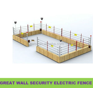 perimeter security electric fence energiser for residential alarm security electric fence solar