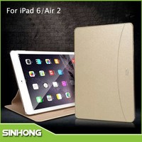 Luxury 2 Card Holder Leather Stand Anti-shock Case For iPad 2