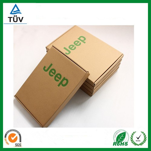 kraft paper box with clear window,phone shell kraft packaging box