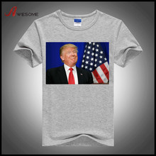 1USD Dollar Promotional Election Tshirt Bulk Cheap T Shirt Printing Wholesale