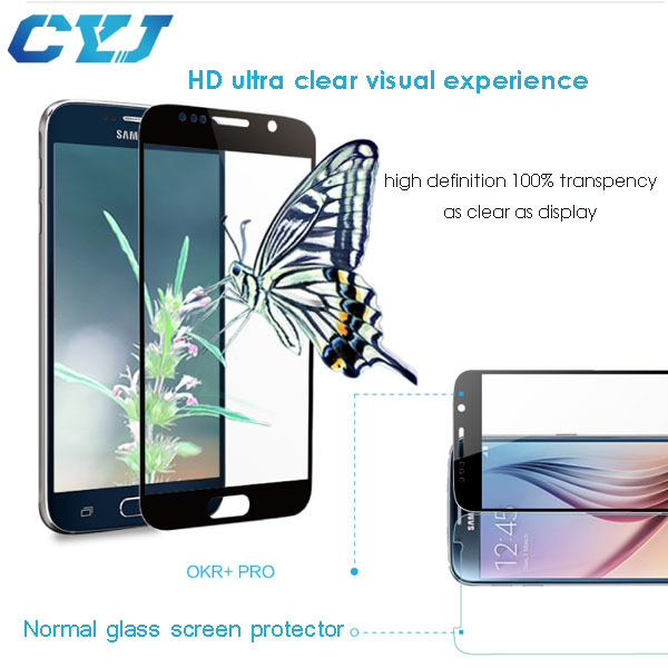 new technology 2015 oleophobic coating water proof for samsung galaxy young s3610 screen protector