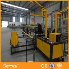PLC Control Automatic Chain Link Fence Machine