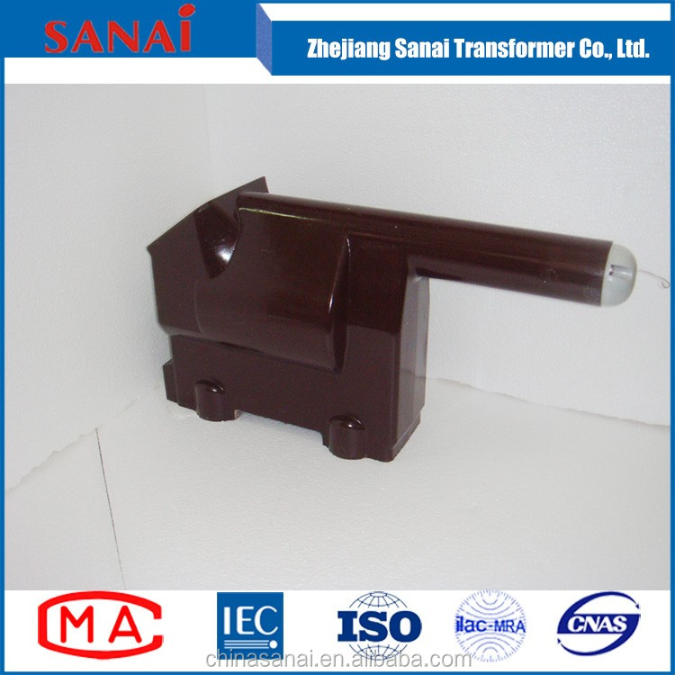 single phase pole mounted high voltage transformer , low voltage transformer for metering