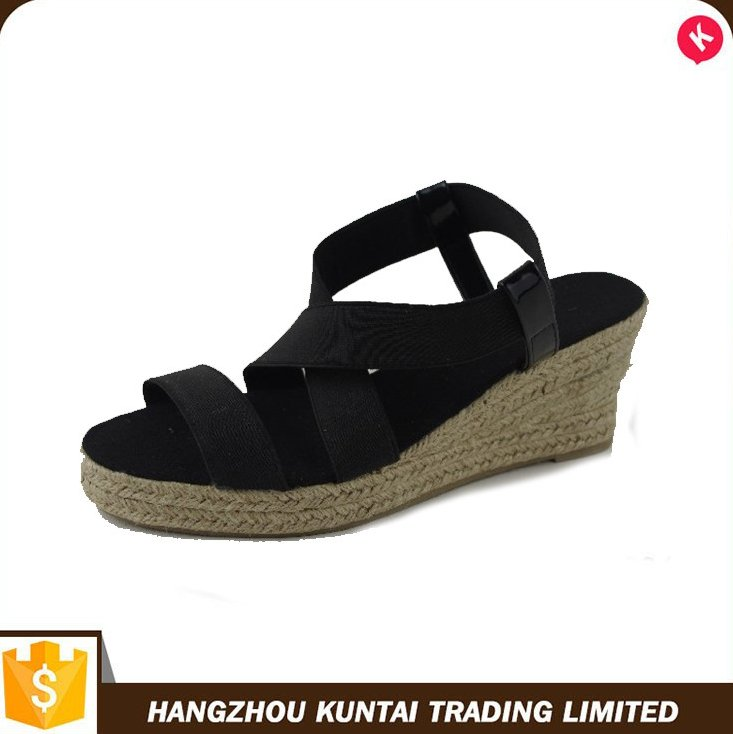 Special hot selling latest ladies sandals designs