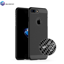 Ultra slim heat dissipation hard pc plastic matte pc cover cooling phon case for apple iphone 7 plus i phone7 case