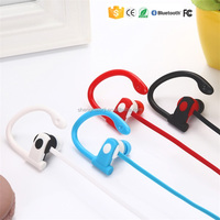 Ear hook selfie function sports made in china bluetooth V4.1 headset for android mobile phone