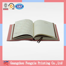 Fashionable Hard Cover Good Price Fancy Paper Notebook Factory