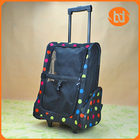 Pet cat dog trolley bag dog backpack pet carrier