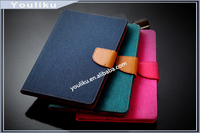 Jeans Tablet Case For Ipad Leather Case Wallet Cover,Stand Leather Case For Ipad 2/3/4