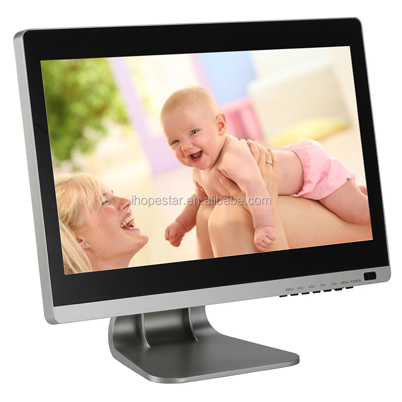 High resolution 19 inch touch screen monitor 16:9 widescreen