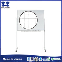 Firmly fixed movable hanger magnetic writing board with grey line