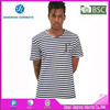 Striped CVC 60/40 T-shirts/Yard Dyed O-Neck T shirt/Election Tshirt
