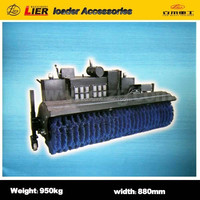 Lier loader with high quality Power angle cleaning machine