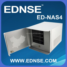 EDNSE ED-NAS4-D 4-Bay Tower NAS Server Case for Soho and Home