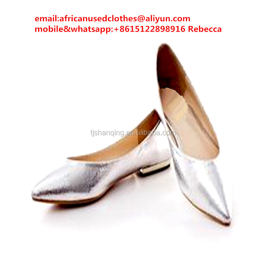 used shoes/ collected by door to door ,original ladies flat shoes,Plain and neat design