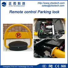 Heavy duty intelligent remote controlled car safety lock automatic security car parking lock with rechargeable/dry cell battery